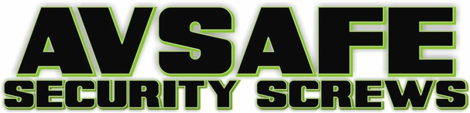 AV Safe Security Screws